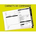 Carnet de commande autocopiant - transmission florale
